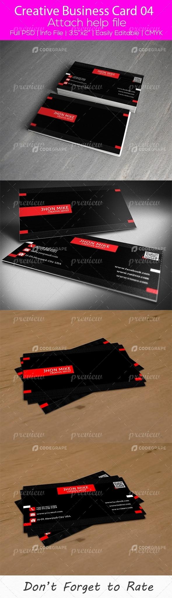 Creative Business Card 04