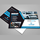 Car Postcard Template