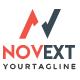 Novext N Letter Logo