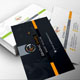 Graphic Shape Corporate Business Cards