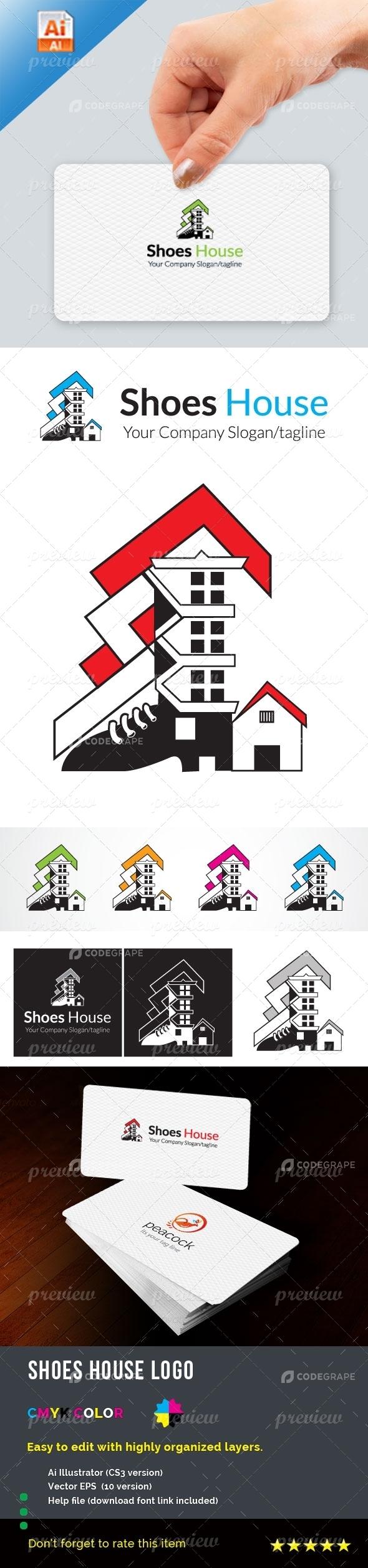 Shoes House Logo