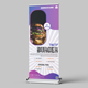Restaurant Roll Up Banner Design