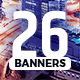 Banners Pack 26 sizes for Google Ads