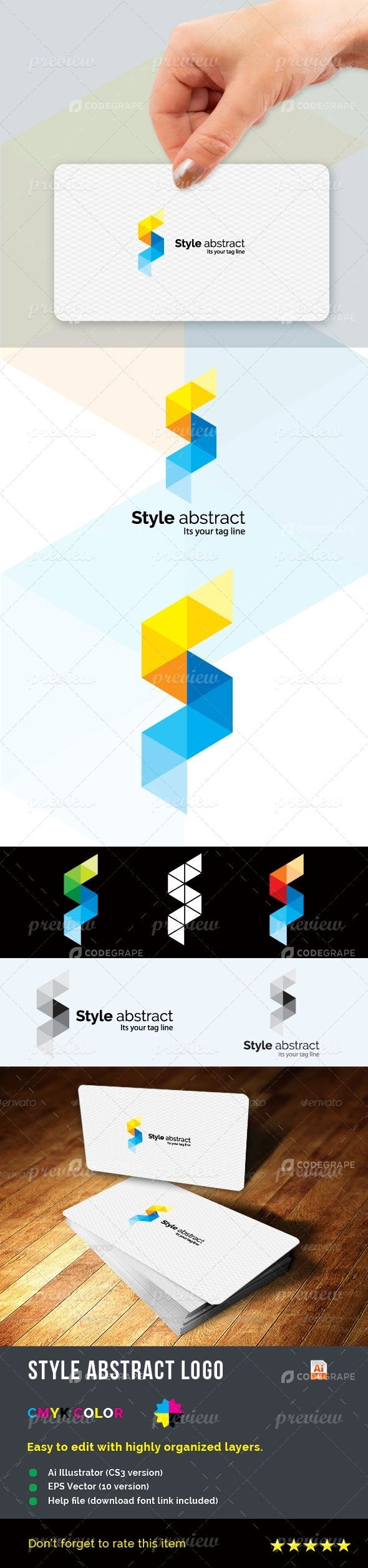 Style Abstract Logo