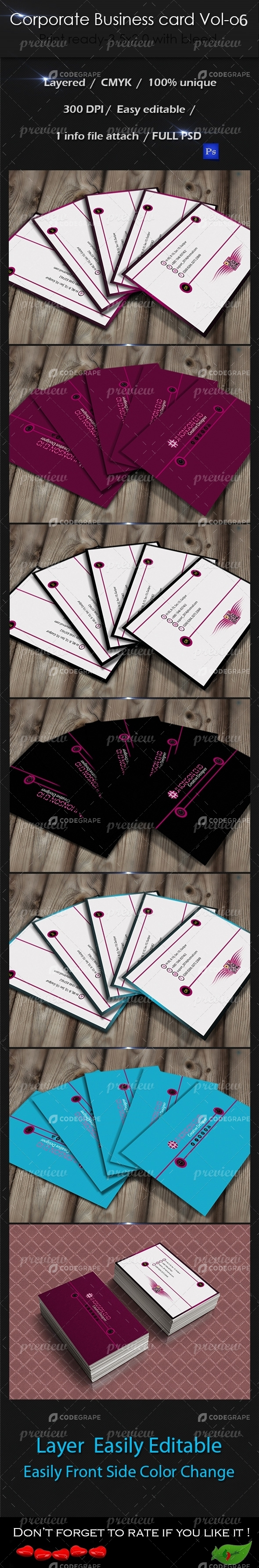 Corporate Business Card Vol-6