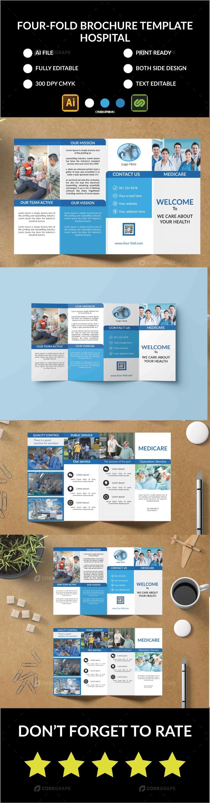 Hospital Four-Fold Brochure