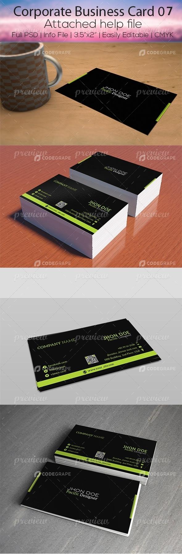 Corporate Business Card 07