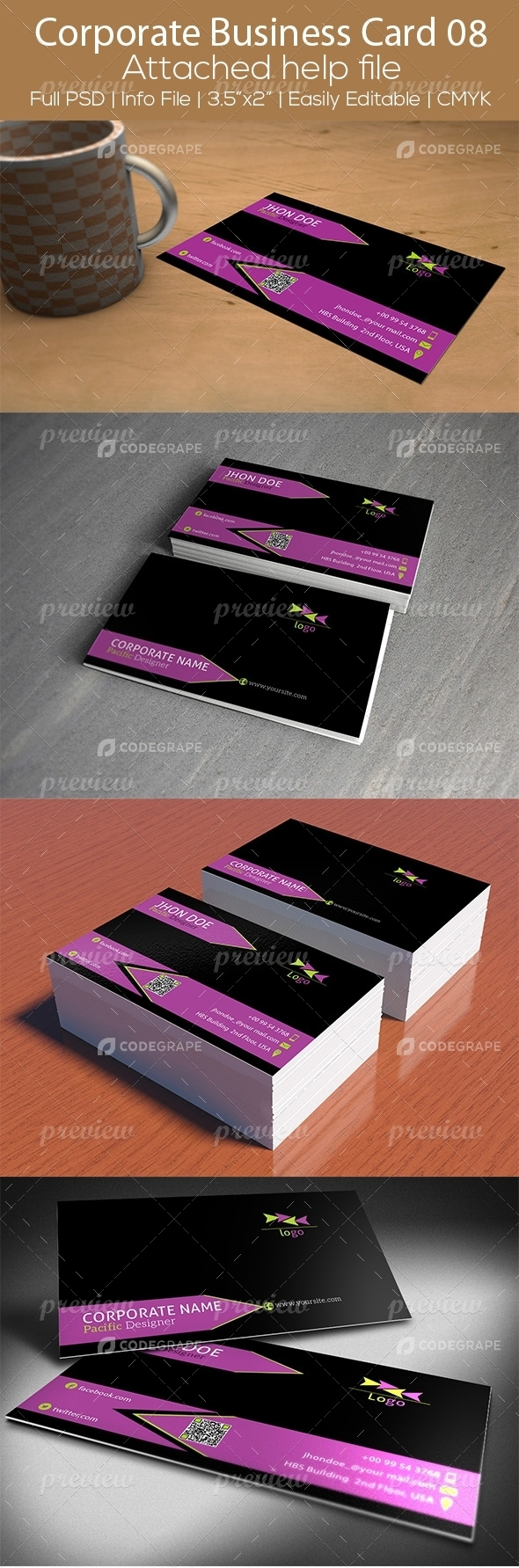 Corporate Business Card 08
