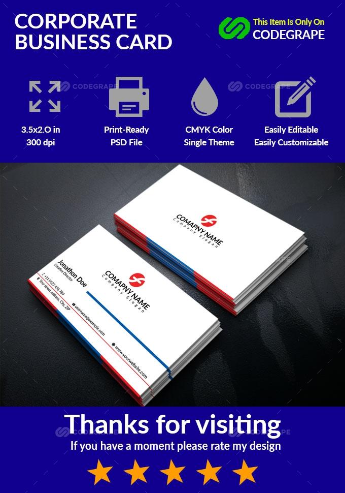 Coporate Business Card