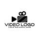 Video Camera Broadcast Film Logo Design Template