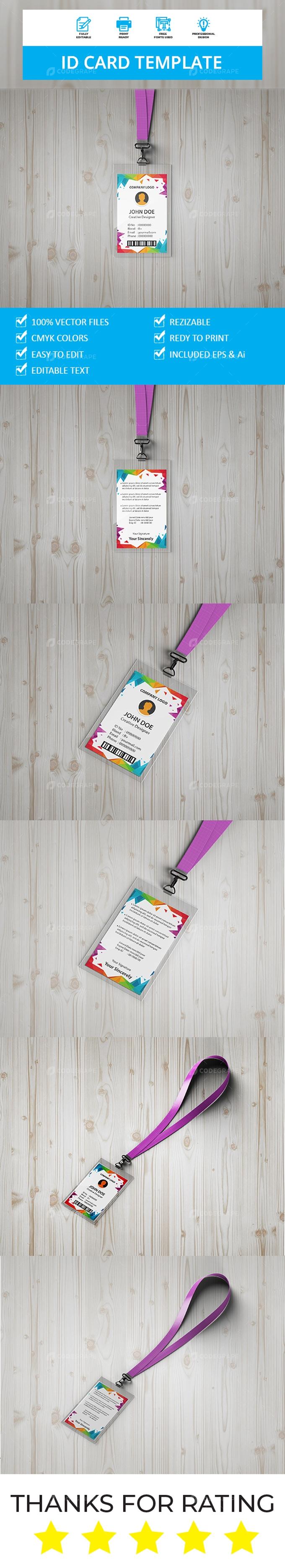 ID Card Template