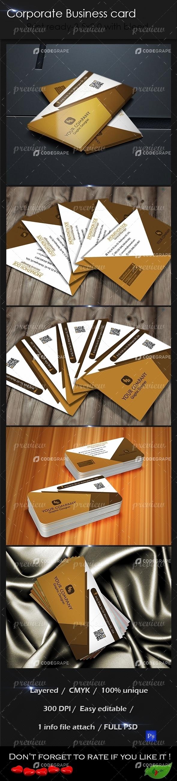 Corporate Business Card 10