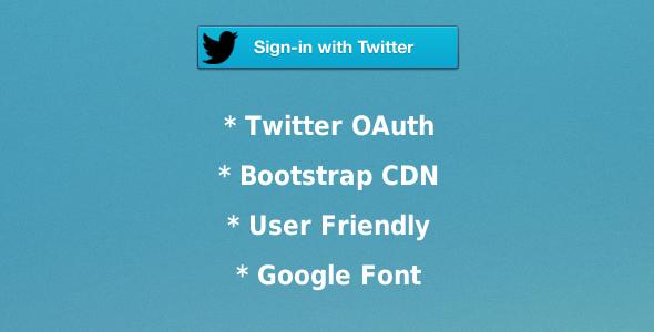 Twitter Status Update Using OAuth
