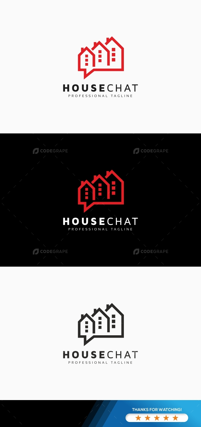 House Chat Logo