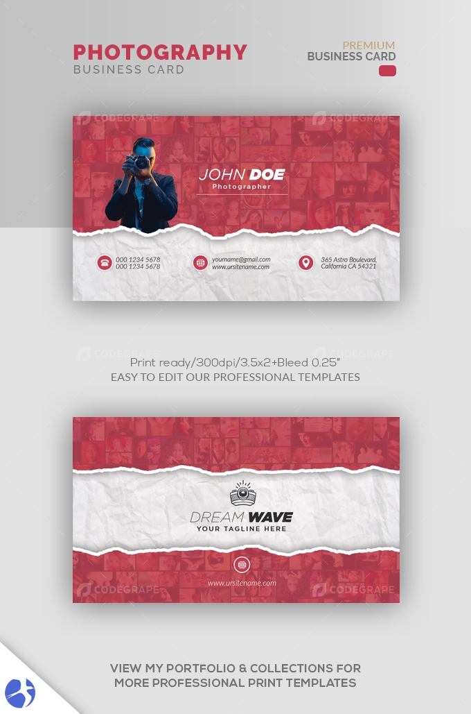 Photography Creative Business Card