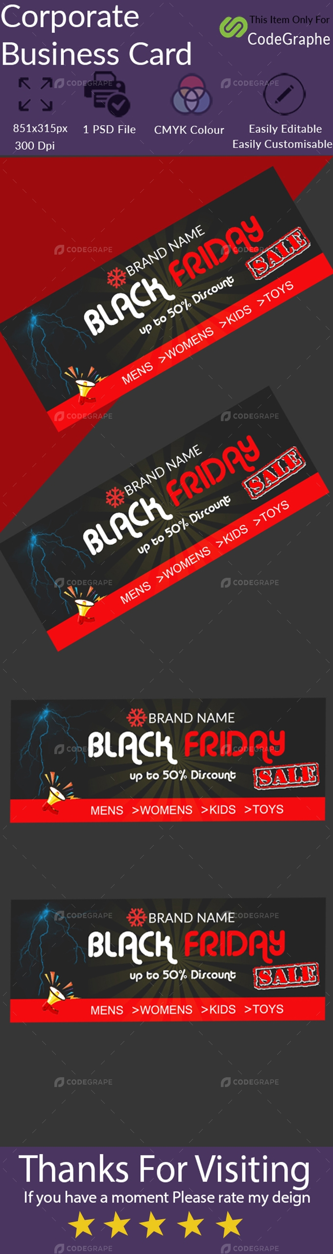 Black Friday Facebook Cover