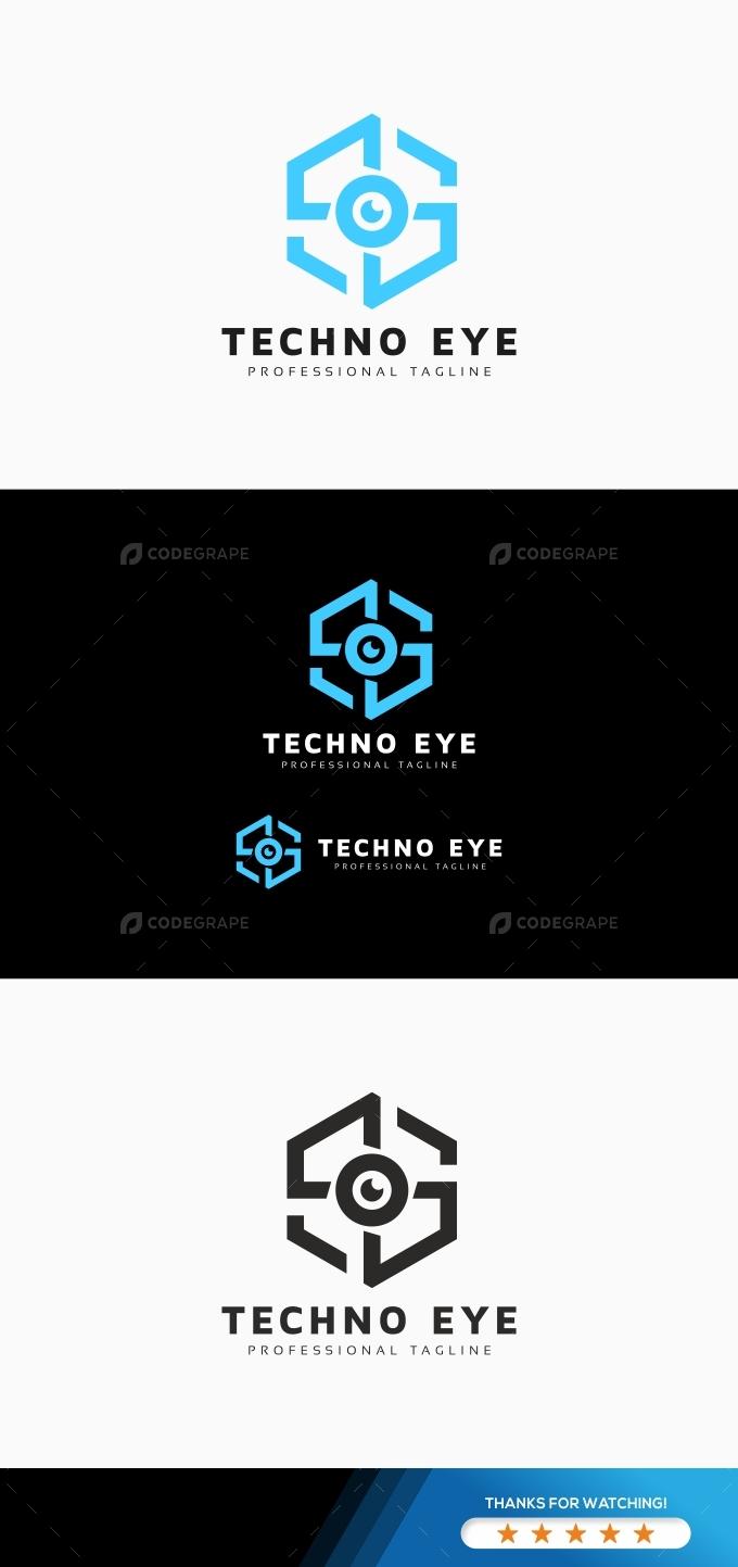 Techno Eye Logo
