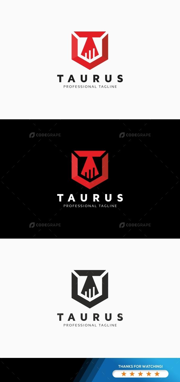 Taurus Law T Letter Logo
