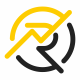 Rezonatex R Letter Logo