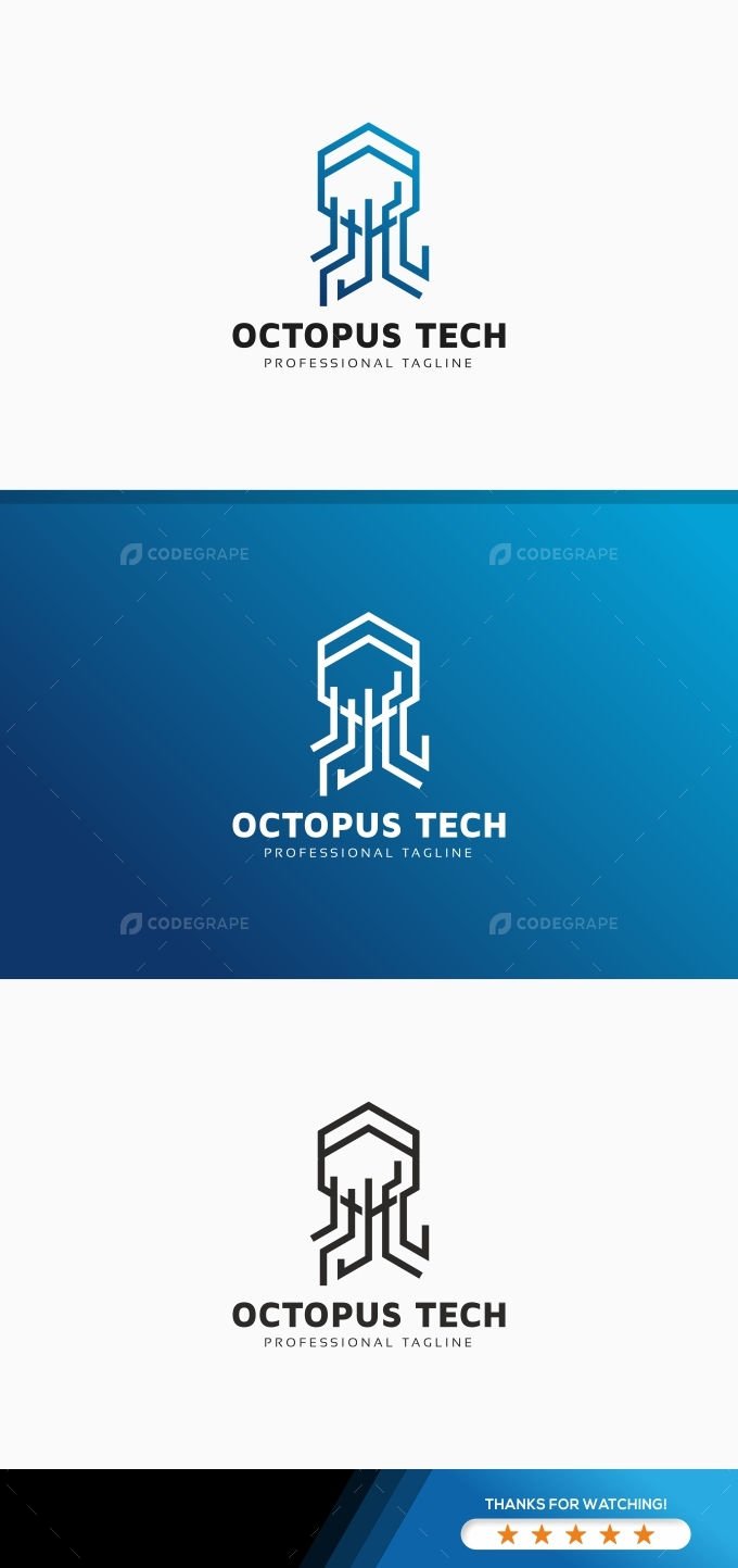 Octopus Tech Logo