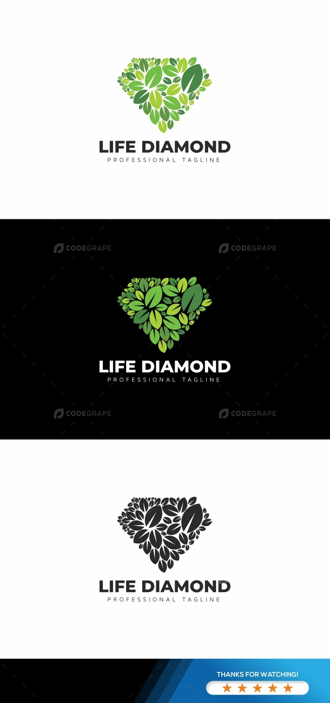 Life Diamond Logo