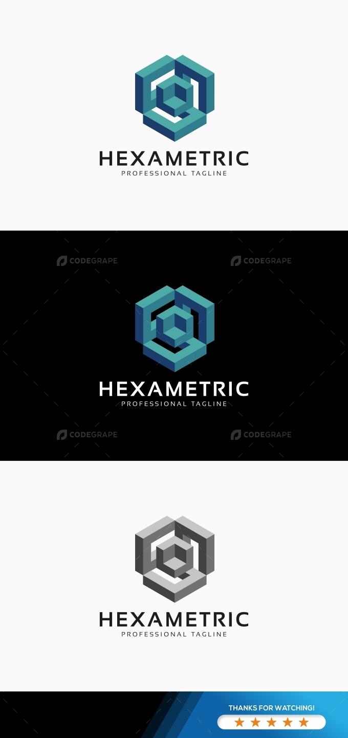 Cube Hexagon Logo