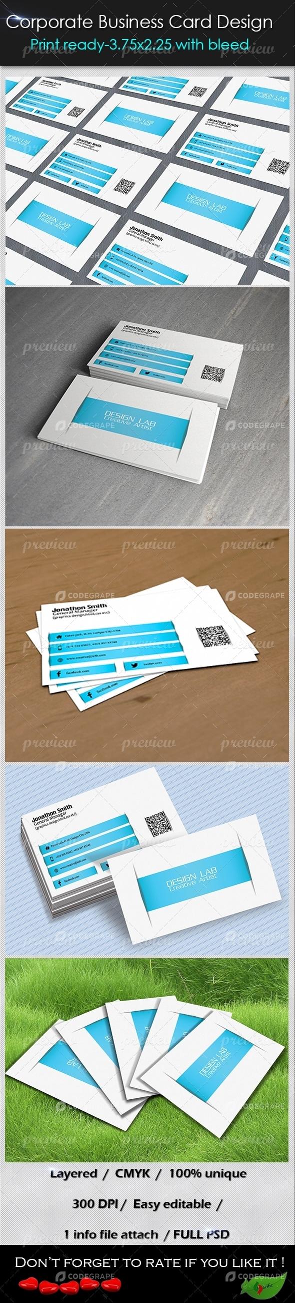 Corporate Business Card 16