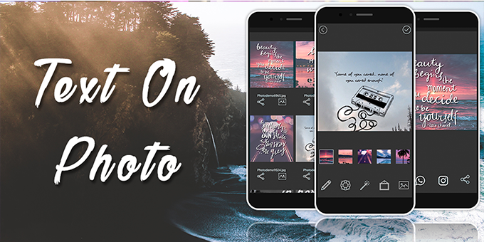 Text On Photo & Dp - Text Editor