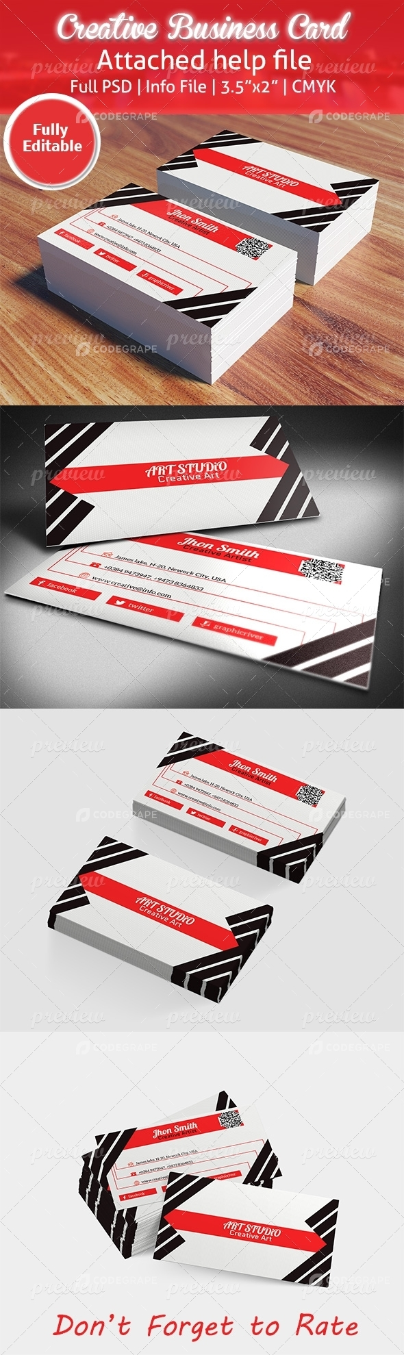 Creative Business Card 11