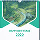 Wall Calender New Years-2020