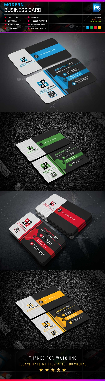 Mordern Business Card