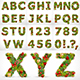 Christmas Alphabet and Numbers