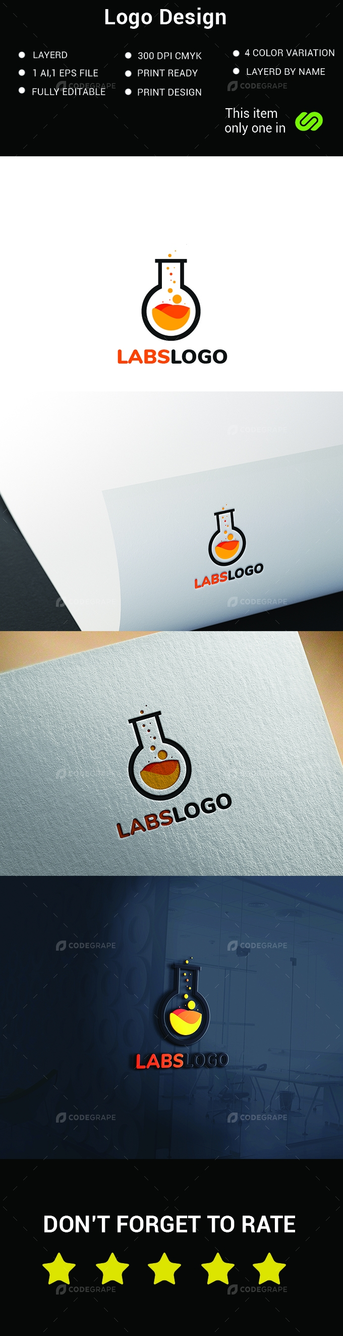 Lab Logo Design