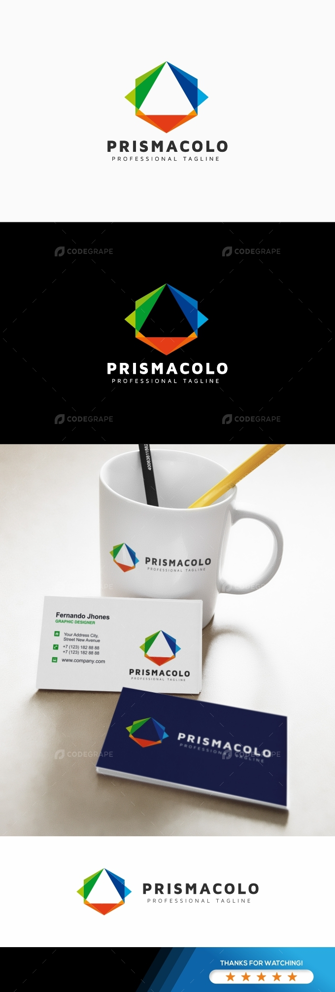 Prisma Colorful Logo