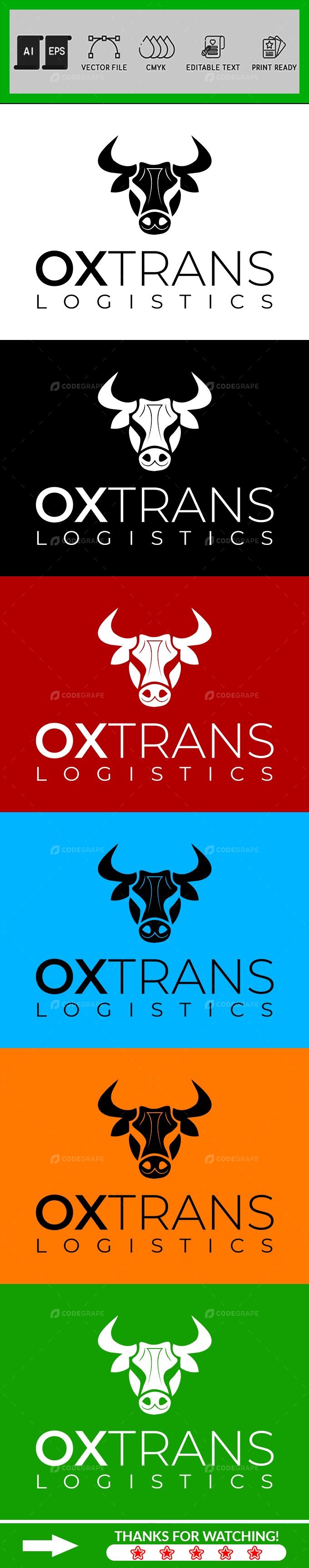 OX Logo Design Template
