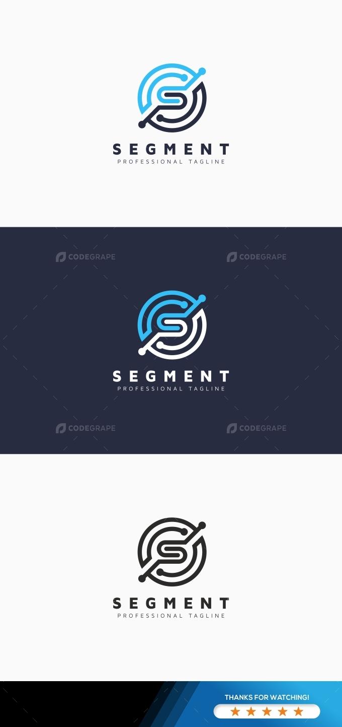 Segment S Letter Logo
