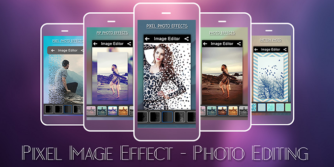 Pixel Effect - 3D Photo Editor