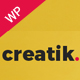 Creatik - Responsive Multipurpose WordPress Theme