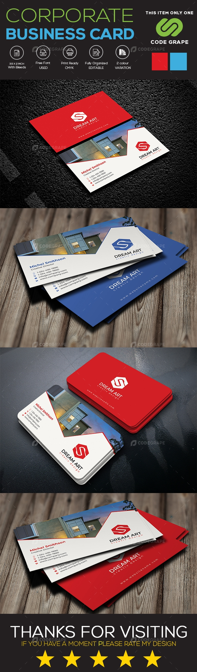 Realestate Business Card