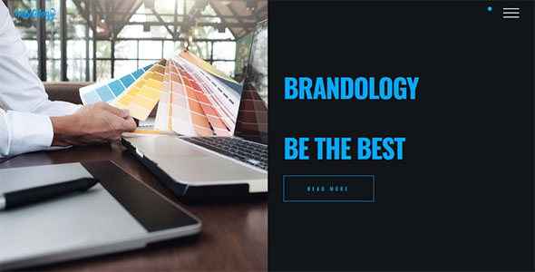 Brandology - Agency Laravel Creative Agency CMS