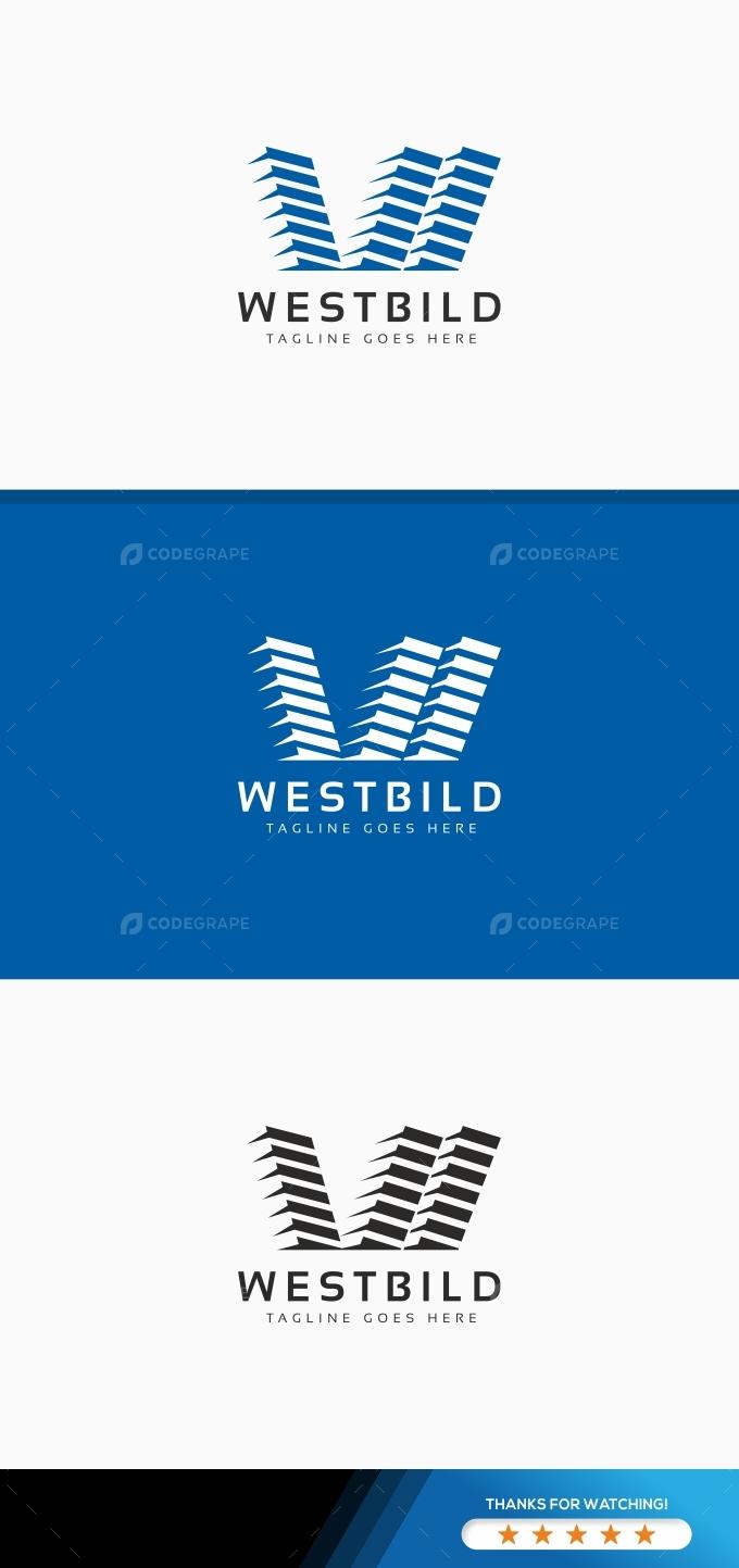 Westbild W Letter Logo