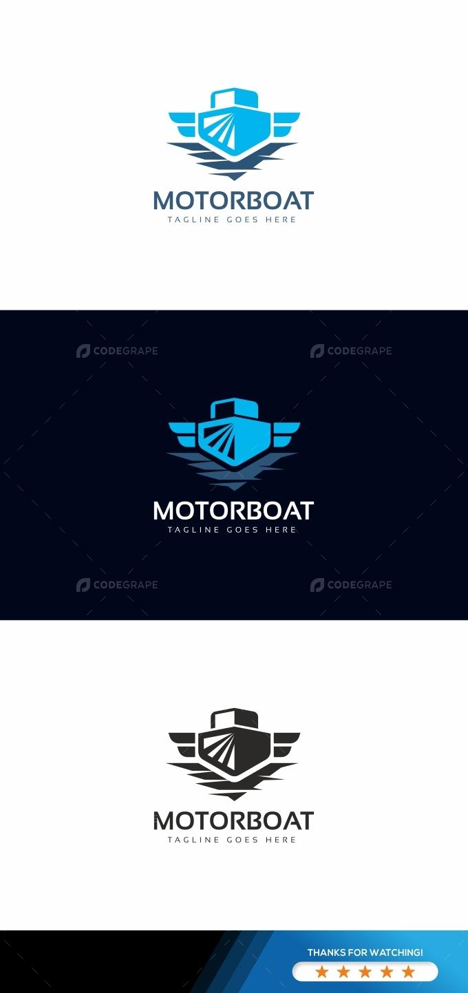 Motorboat Logo