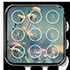 Keypad Lock Screen - iOS Lock Screen