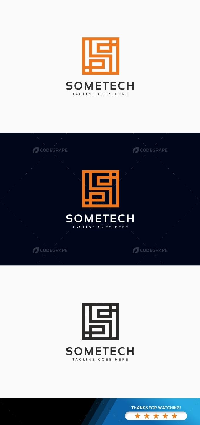 Sometech S Letter Logo