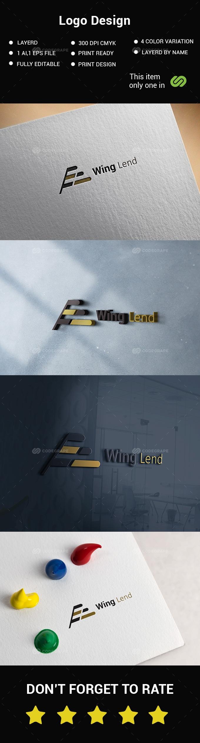 Wing Logo Design