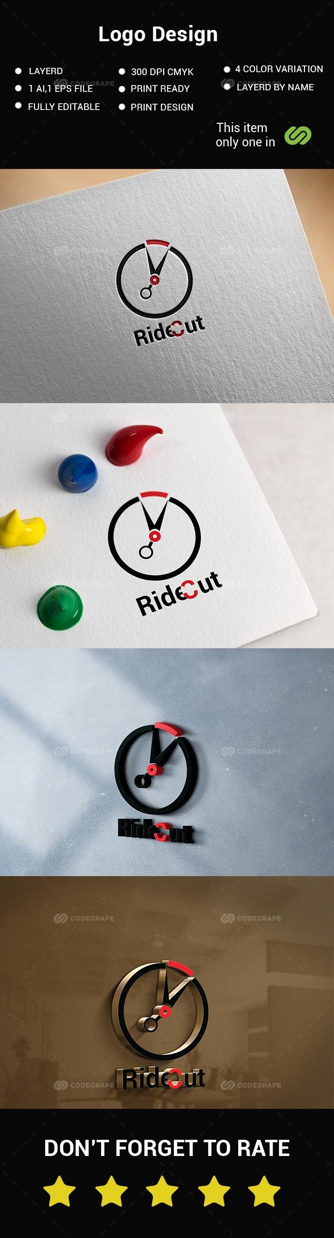 Ride Logo Design