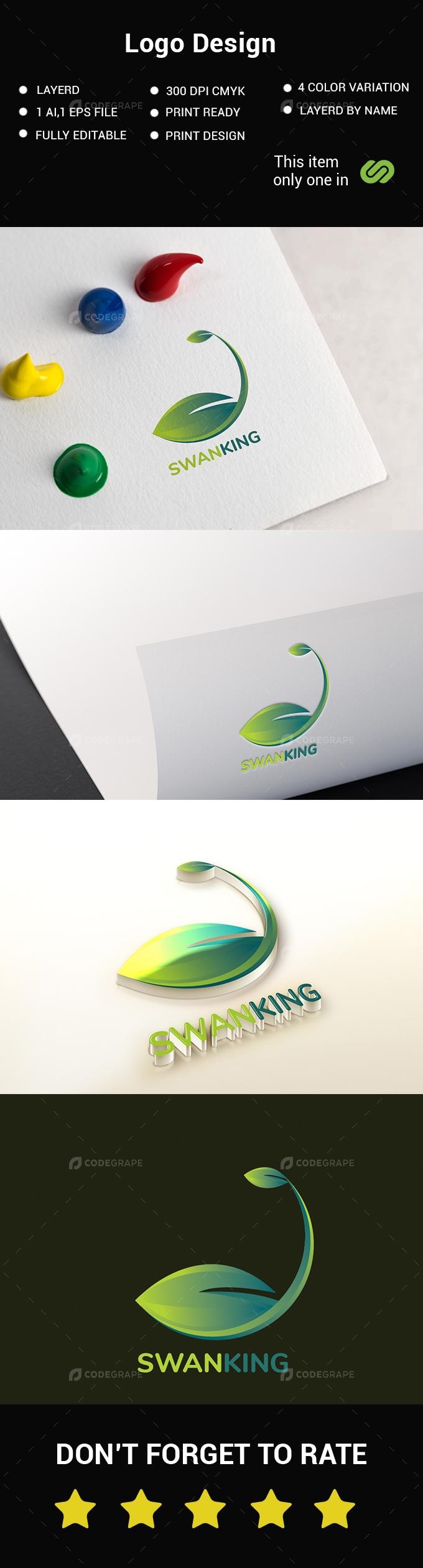 Swan Logo Design