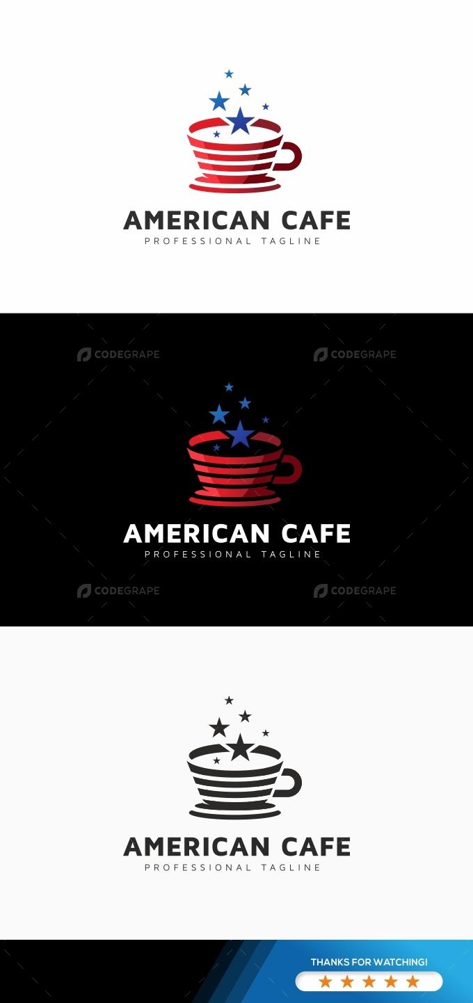 American Coffee Logo