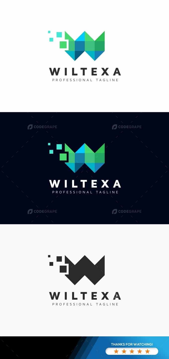 Wiltexa W Letter Logo