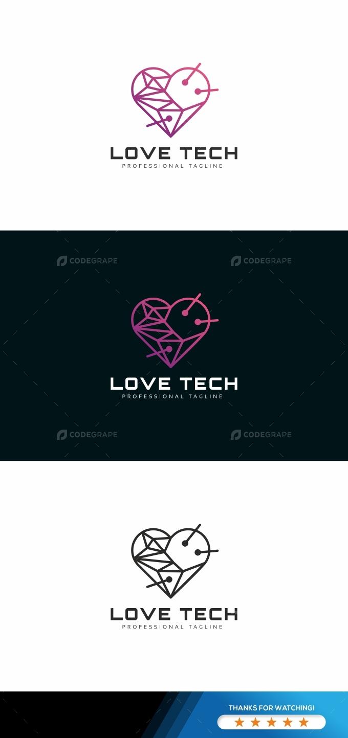 Love Tech Logo